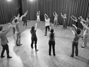 Acting workshop, Madrid